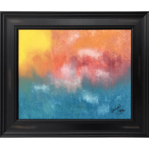 Original Oil Painting Abstract 02