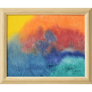Original Oil Painting Abstract 04