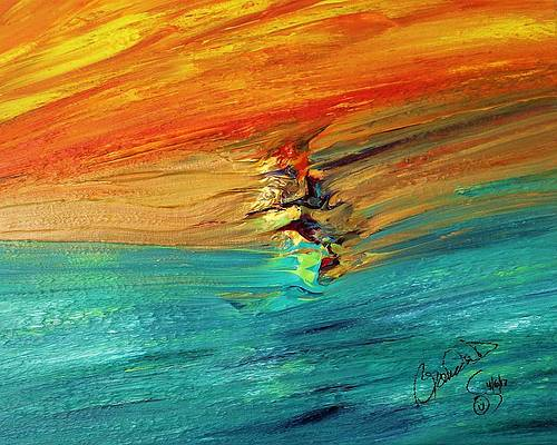 Abstract Acrylic Art Mertseger Mons