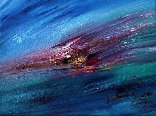 Abstract Acrylic Art Nepthys Mons