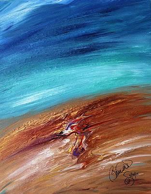 Abstract Acrylic Art Sekmet Mons