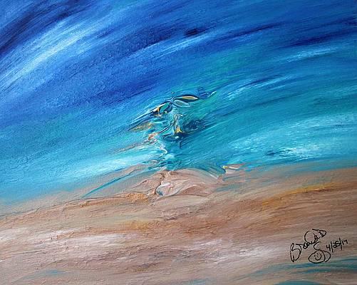 Abstract Acrylic Art Theia Mons