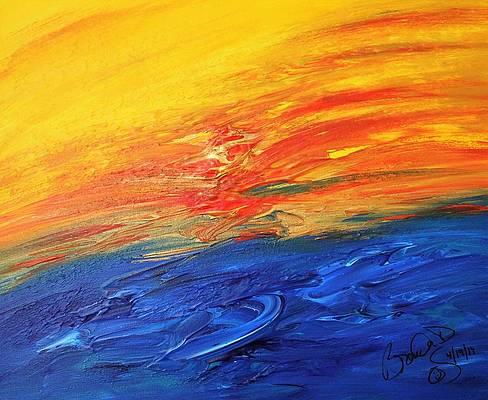 Abstract Acrylic Art Kurukulla Mons