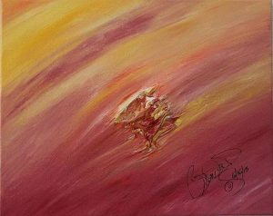 Abstract Acrylic Art Gauri Mons