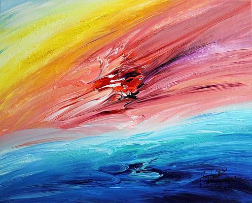 Abstract Acrylic Art Atanua Mons