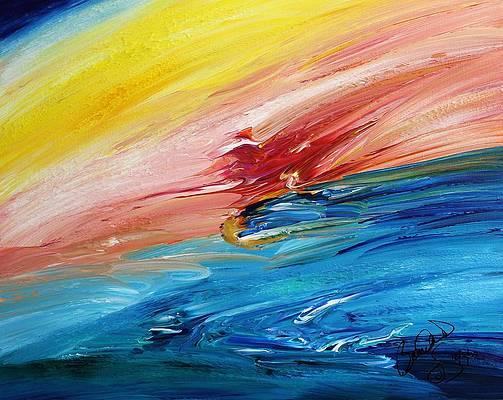 Abstract Acrylic Art Mielikki Mons