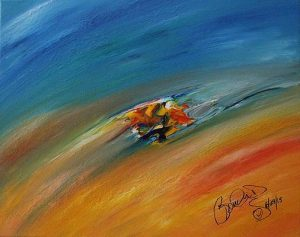 Abstract Acrylic Art Hallgerda Mons