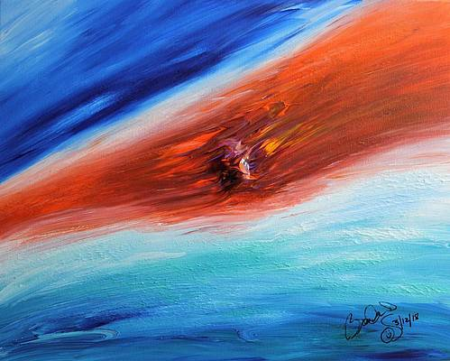 Abstract Acrylic Art Atsyrkhus Mons