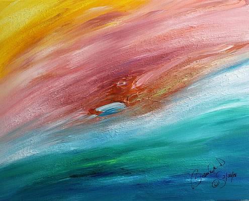 Abstract Acrylic Art Mokosha Mons