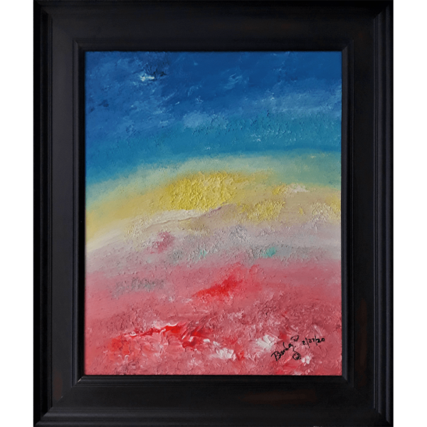 Original Oil Painting Abstract 13