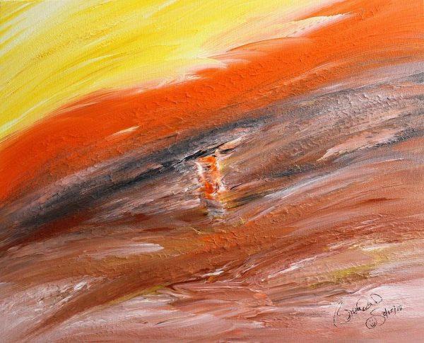 Abstract Acrylic Art Skadi Mons