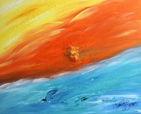 Abstract Acrylic Art Tuzandi Mons