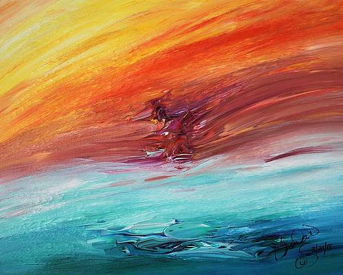 Abstract Acrylic Art Somagalags Mons