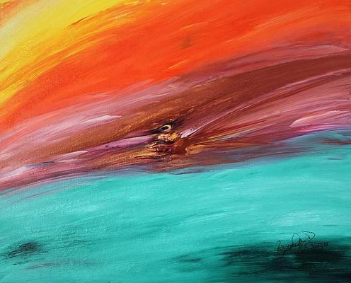 Abstract Acrylic Art Capri Mons