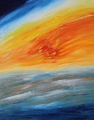 Abstract Acrylic Art Echus Mons