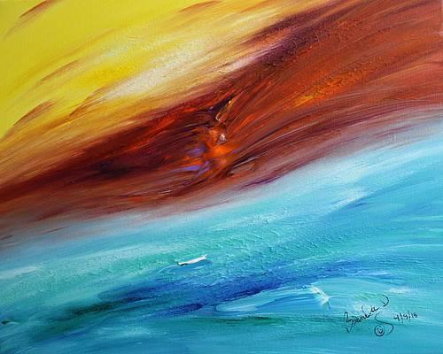 Abstract Acrylic Art Galaxius Mons