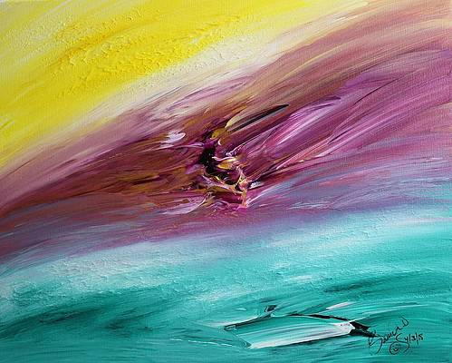 Abstract Acrylic Art Labeatis Mons