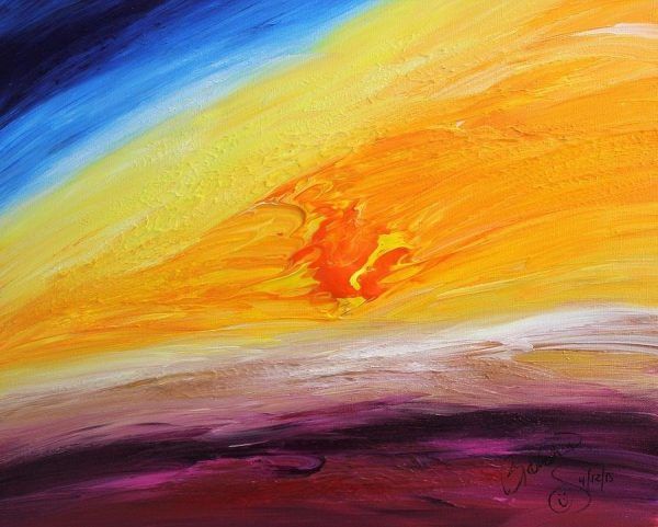 Abstract Acrylic Art Oceanidum Mons