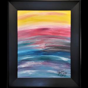Abstract Acrylic Art Aonia Mons