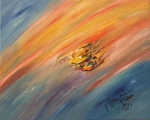 Abstract Acrylic Art Idunn Mons