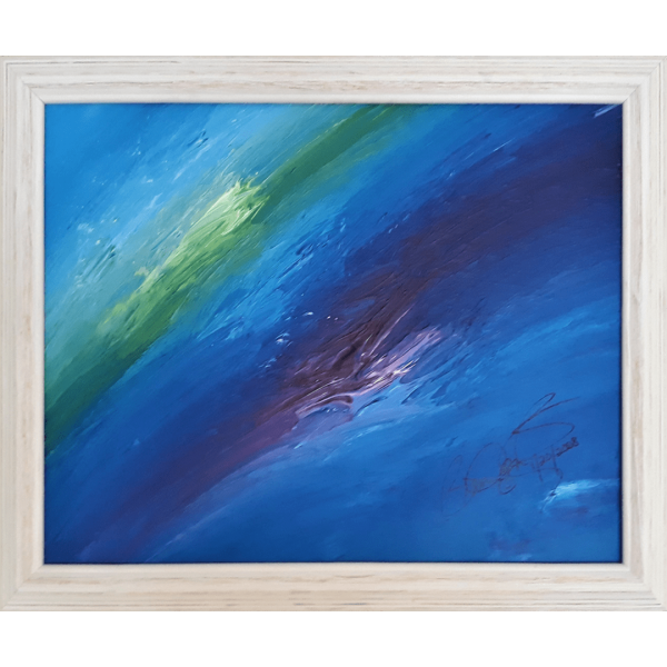 Abstract Acrylic Art Ascraeus Mons