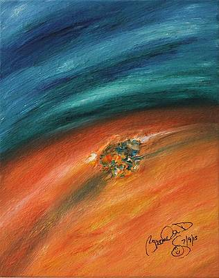Abstract Acrylic Art Jael Mons - Montes Collection