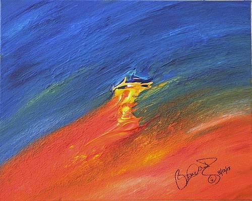 Abstract Acrylic Art Kali Mons