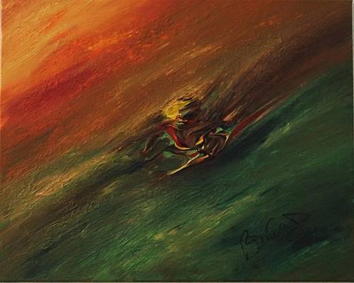 Abstract Acrylic Art Lahar Mons