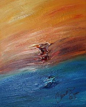 Abstract Acrylic Art Pahto Mons