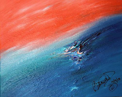 Abstract Acrylic Art Sakwap-mana Mons