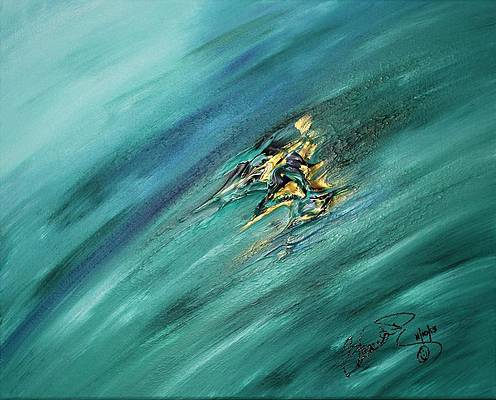 Abstract Acrylic Art Ua-ogrere Mons