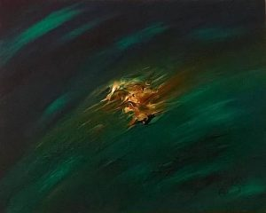 Abstract Acrylic Art Zaltu Mons