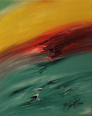 Abstract Acrylic Art Faravari Mons