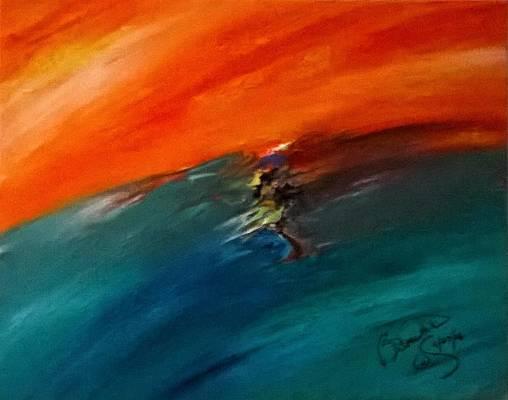 Abstract Acrylic Art Ozza Mons