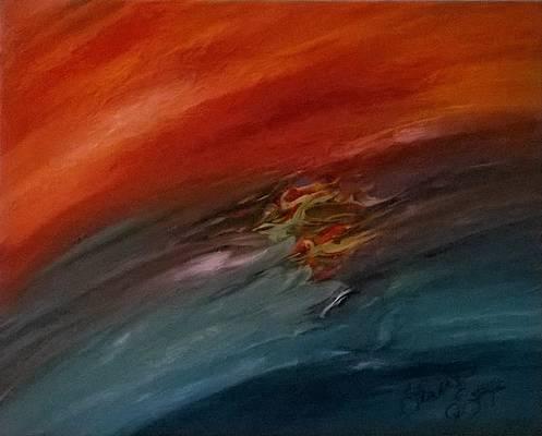 Abstract Acrylic Art Polik-mana Mons