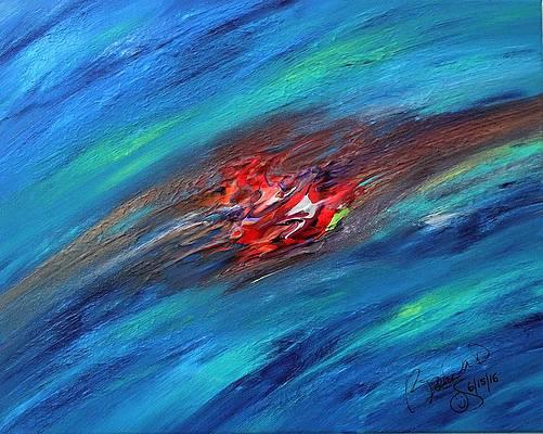 Abstract Acrylic Art Uretsete Mons