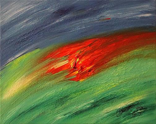 Abstract Acrylic Art Yunya-mana Mons