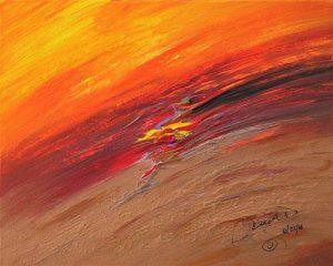 Abstract Acrylic Art Aleksota Mons