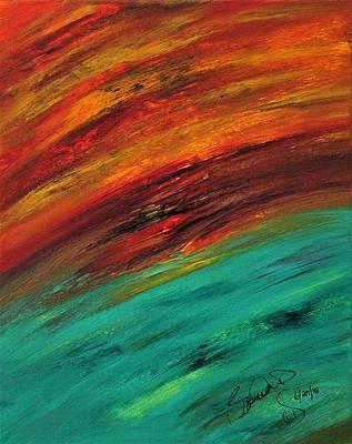 Abstract Acrylic Art Bunzi Mons