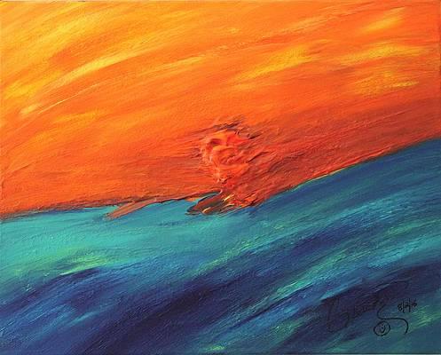 Abstract Acrylic Art Cipactli Mons