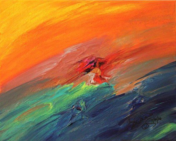 Abstract Acrylic Art Gurshi Mons