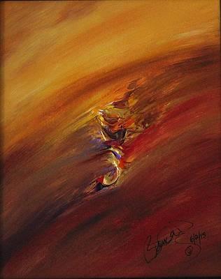 Abstract Acrylic Art Fand Mons