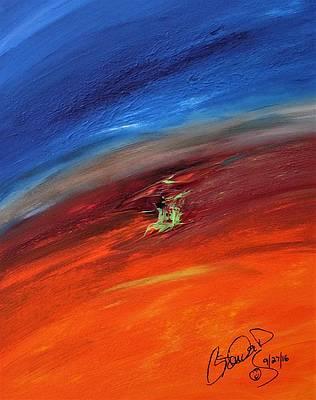 Abstract Acrylic Art Ushas Mons