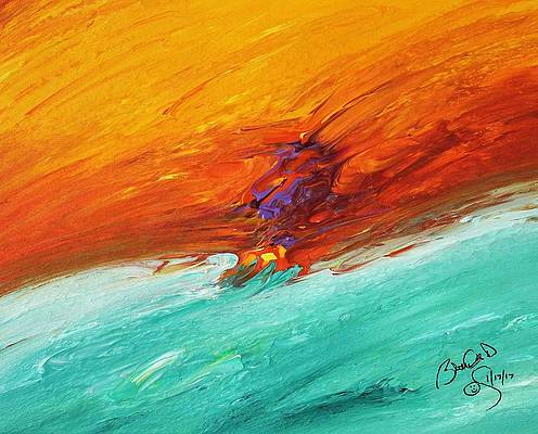 Abstract Acrylic Art Lanig Mons