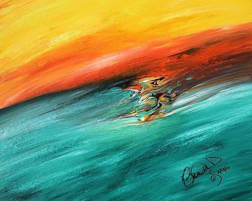 Abstract Acrylic Art Ne Ngam Mons