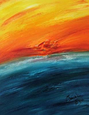 Abstract Acrylic Art Thallo Mons