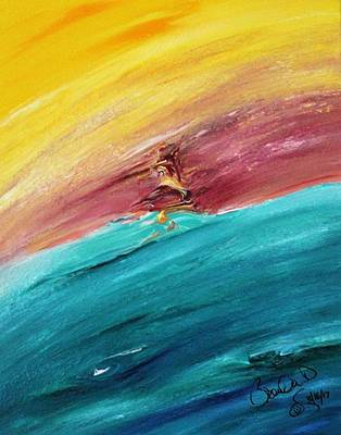 Abstract Acrylic Art Uti Hiata Mons
