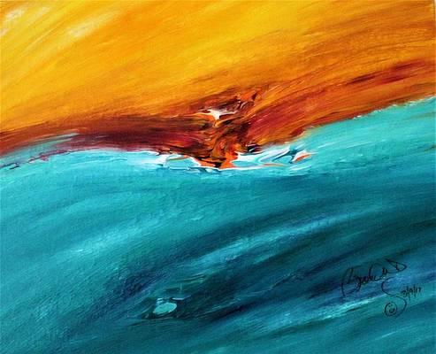Abstract Acrylic Art Api Mons