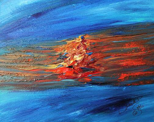 Abstract Acrylic Art Loo-Wit Mons