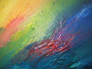 Abstract Acrylic Art Duante's Inferno